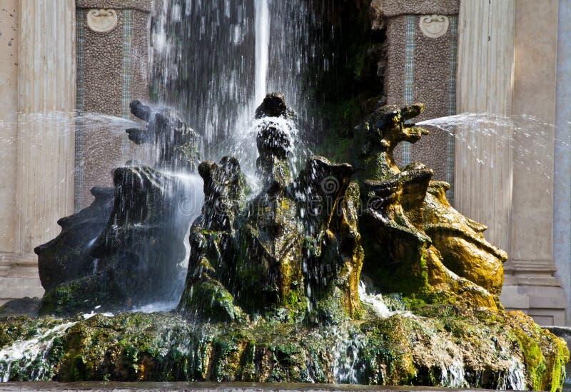 Download Dragons Fountain, Villa D'Este - Tivoli Royalty Free Stock Images - Image: 24320259