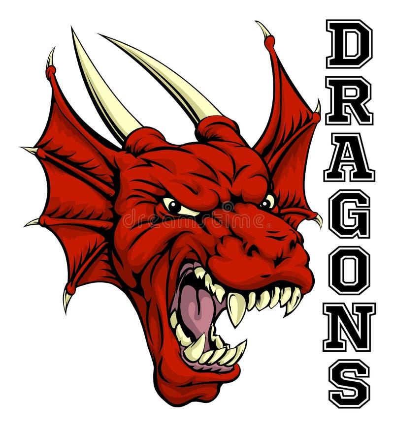 Free Dragons Mascot Royalty Free Stock Photos - 60365068