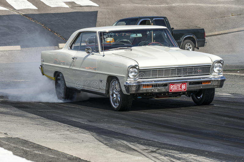 Dragracing stockbilder