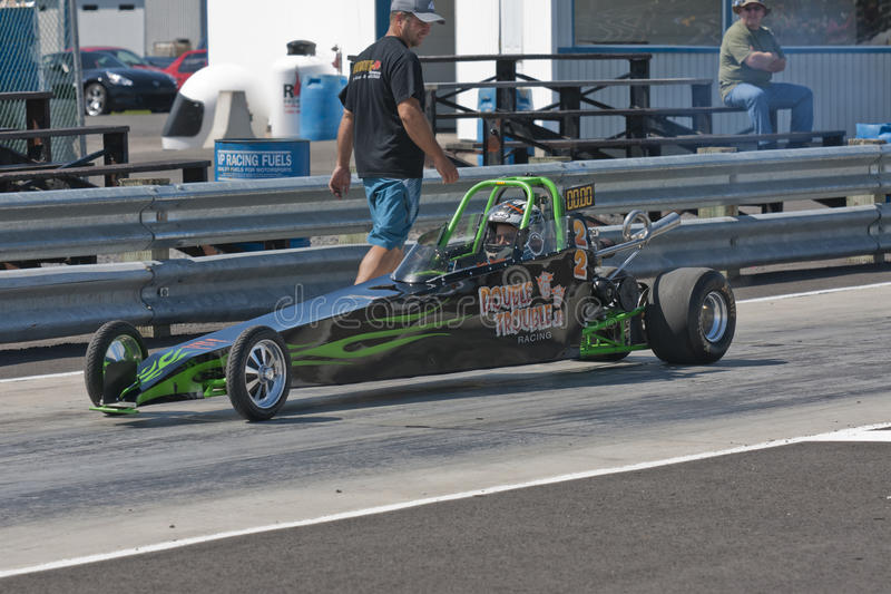 Dragster photo stock