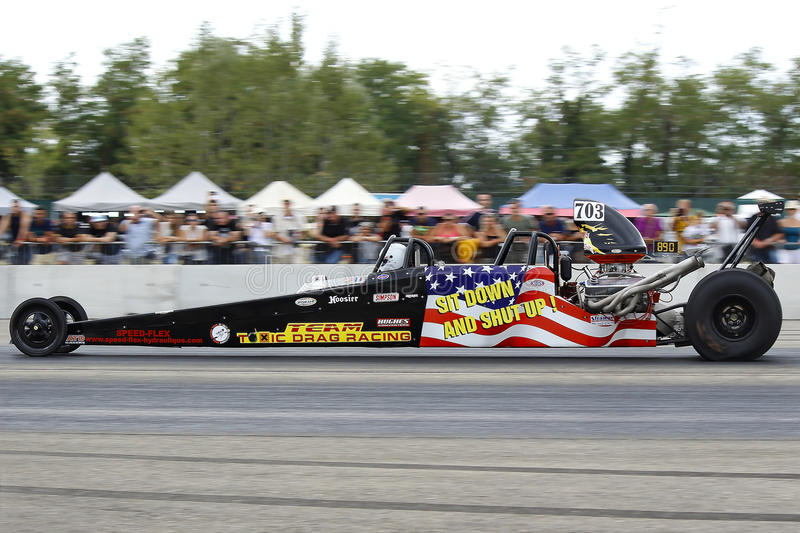 dragster photographie stock