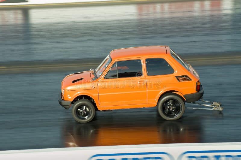 Dragster de Fiat images libres de droits