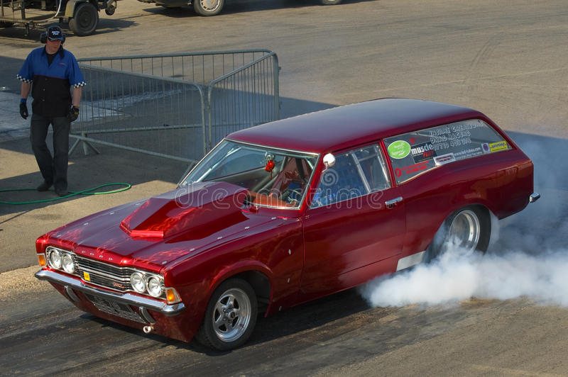 Dragster de Ford image stock