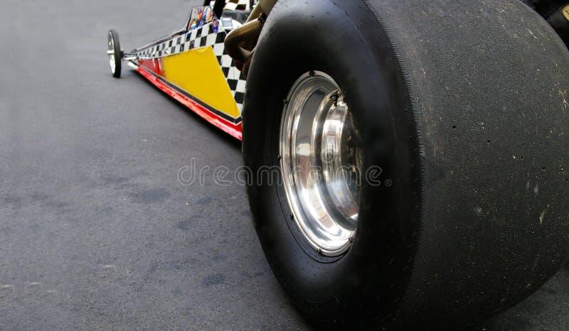 Dragster samochód wyścigowy fotografia stock
