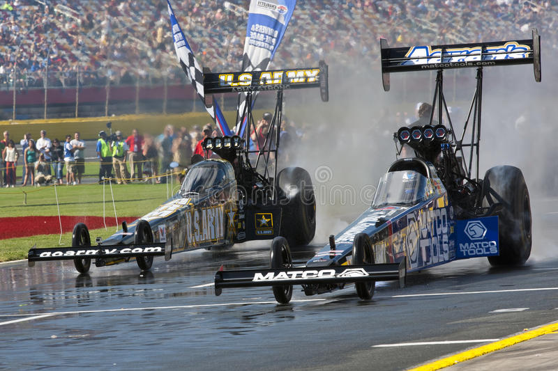 DRAGSTERS:  May 27 Coca Cola 600 Editorial Photo