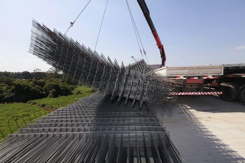 Draht der Stahlstange lizenzfreie stockfotografie