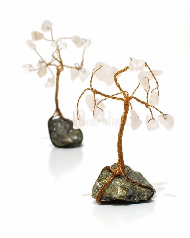 Drahtbäume stockfoto. Bild von ungewöhnlich, gehangen, handwerk - 399946
