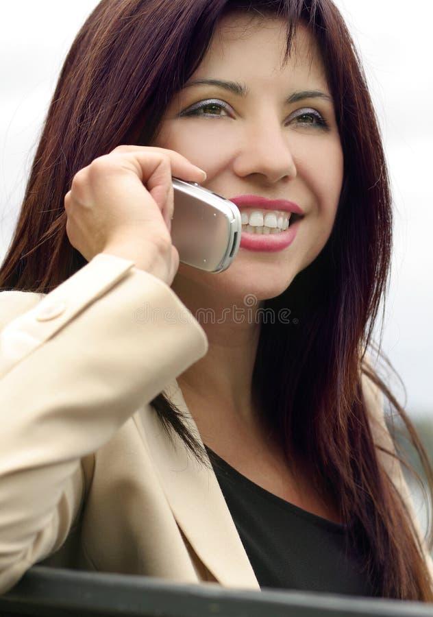 Drahtlose Kommunikation Stockfoto