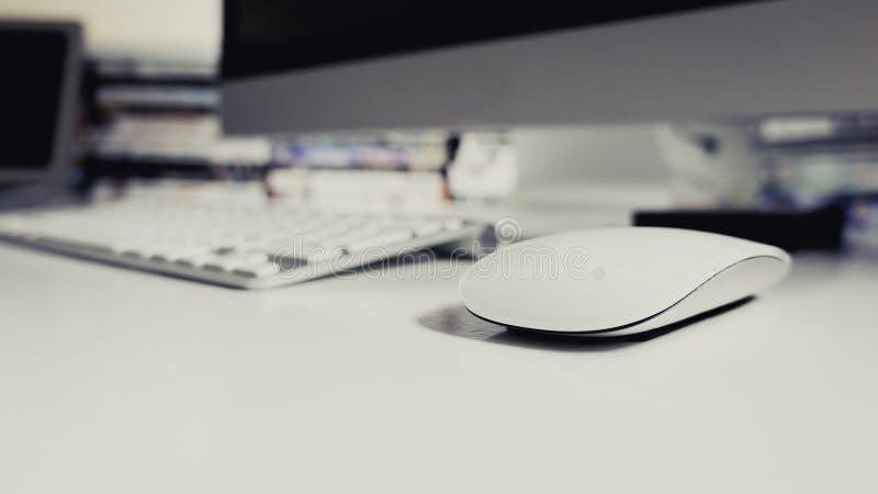 Drahtlose Maus und Tastatur lizenzfreie stockbilder