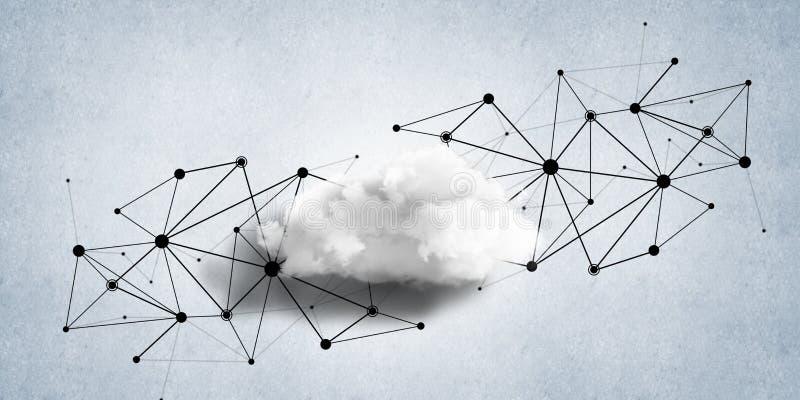 Drahtlose Technologien für Verbindung und Daten als abstrakter Begriff teilen lizenzfreie stockbilder