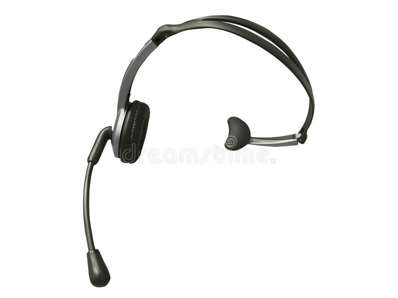 Drahtloser Kopfhörer lizenzfreies stockfoto