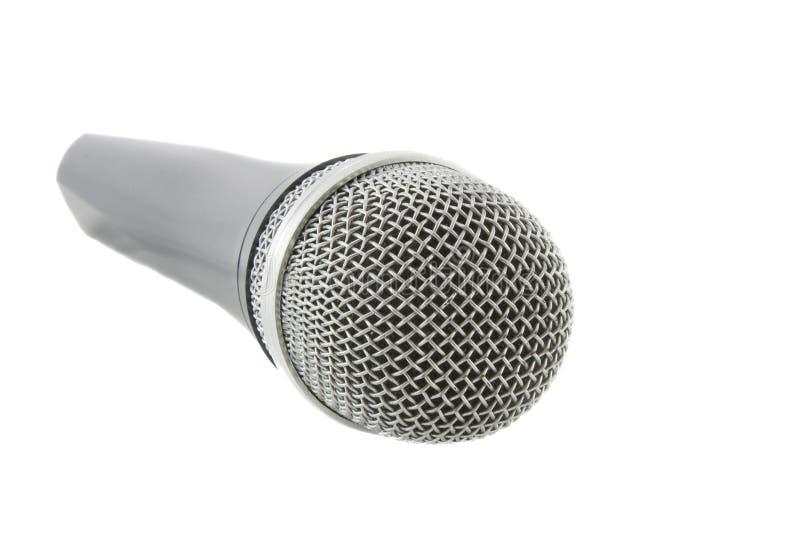 Download Drahtloses Silbernes Mikrofon Stockfoto - Bild von aufflackern, musikalisch: 9090992