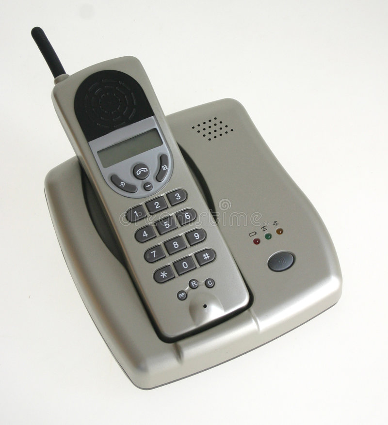 Drahtloses Telefon lizenzfreie stockfotos