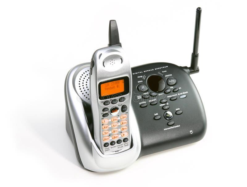 Download Drahtloses Telefon stockfoto. Bild von handel, karriere - 32506