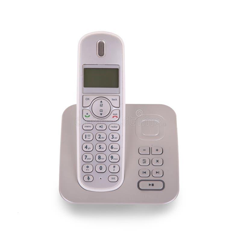 Drahtloses Telefon des Haushalts lokalisiert lizenzfreies stockfoto