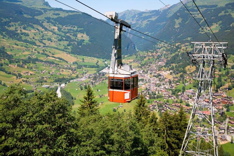 Download Drahtseilbahn In Grindelwald, Bern-Bezirk, Die Schweiz Stockfoto - Bild von oberseite, erhebung: 5731868