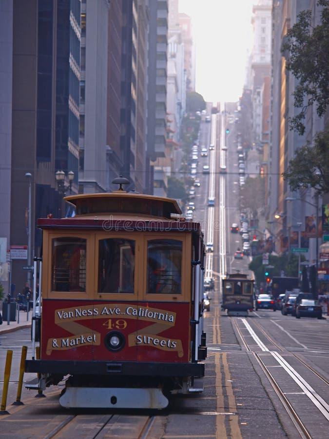 Drahtseilbahn von San Francisco lizenzfreie stockbilder