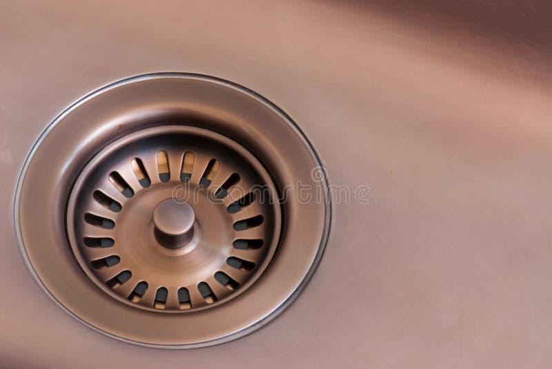 Download Drain stock image. Image of metal, copper, dark, bronze - 19794079