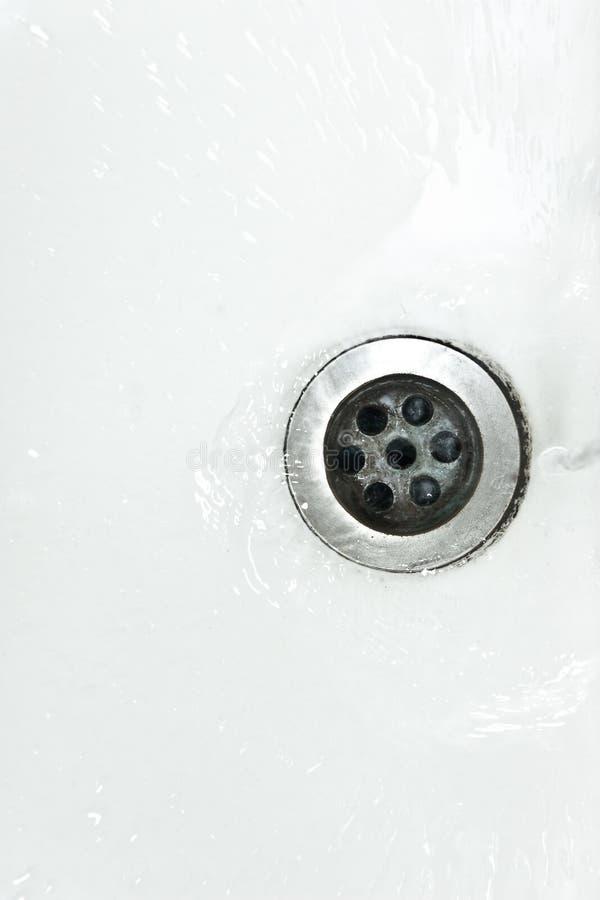Drain de l'eau image libre de droits