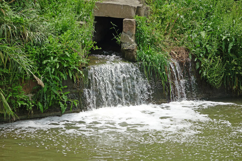 Drainage Ditch Stock Photo - Image: 40197102 Drainage ditch - 웹