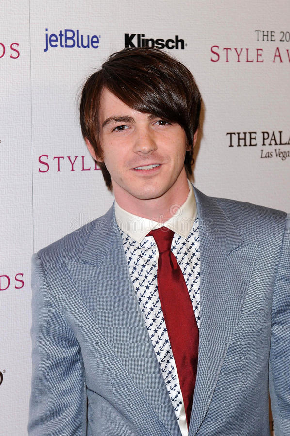 Drake Bell royalty free stock photography