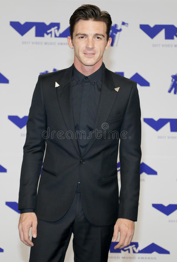 Drake Bell. At the 2017 MTV Video Music Awards held at the Forum in Inglewood, USA on August 27, 2017 stock photo