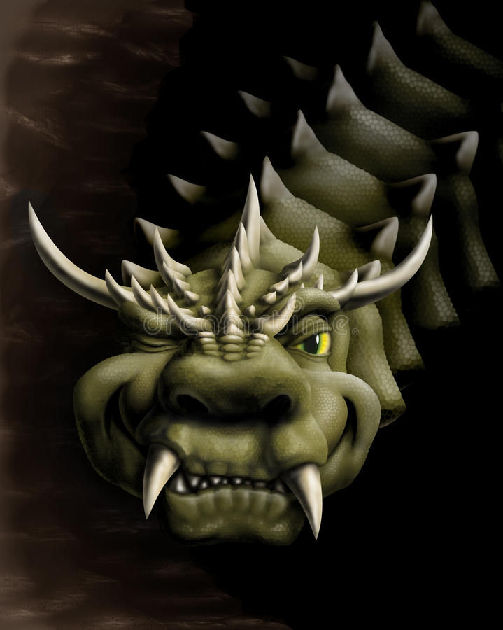 drakeleende arkivfoto