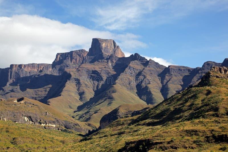 drakensberg山 免版税图库摄影
