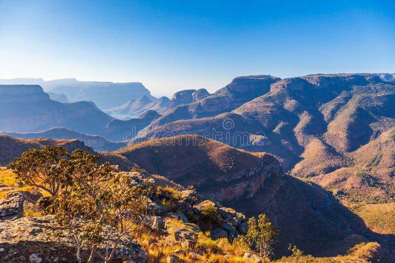 Drakensberg berg i Sydafrika arkivfoton