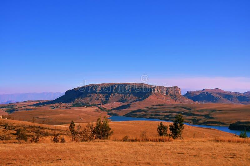 Drakensberg Berge stockfotos