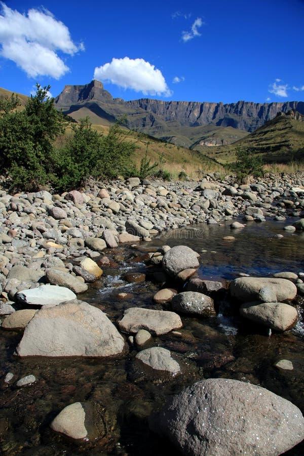 Drakensberg Berge lizenzfreie stockbilder