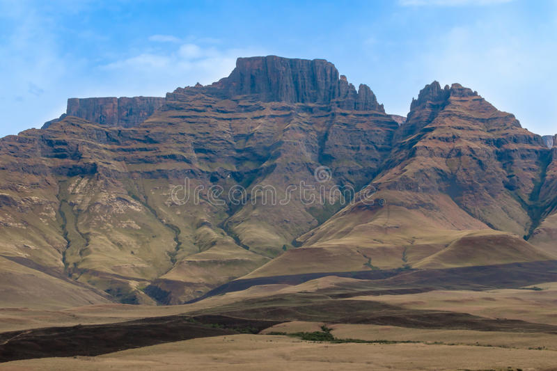 Drakensberg Mountain Range. Royal Natal National Park Drakensberg Mountain Range stock photo