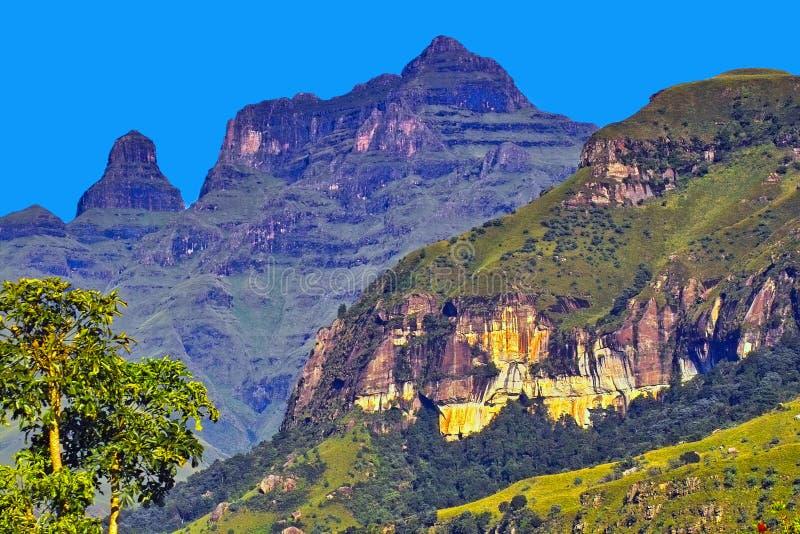Drakensberg Mountains. KwaZulu-Natal, South Africa royalty free stock image