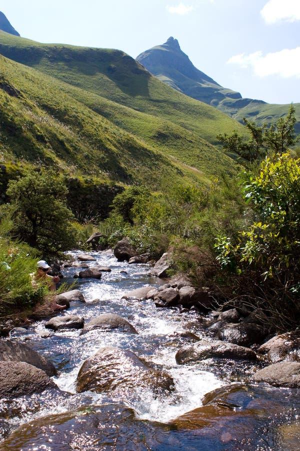 Free Drakensberg Stream Stock Photography - 21040072
