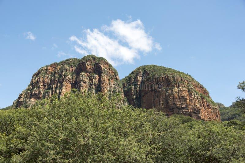 Drakensberg w południowym Africa blisko hoedspruit zdjęcie royalty free