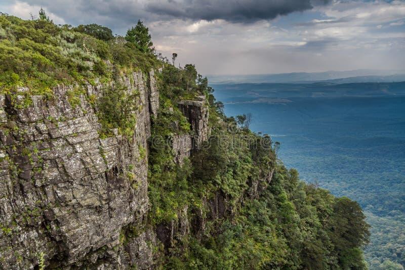 Drakensbergen escarpment obraz royalty free