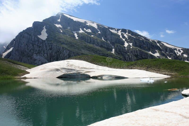 Drakolimni - lago dragon imagenes de archivo