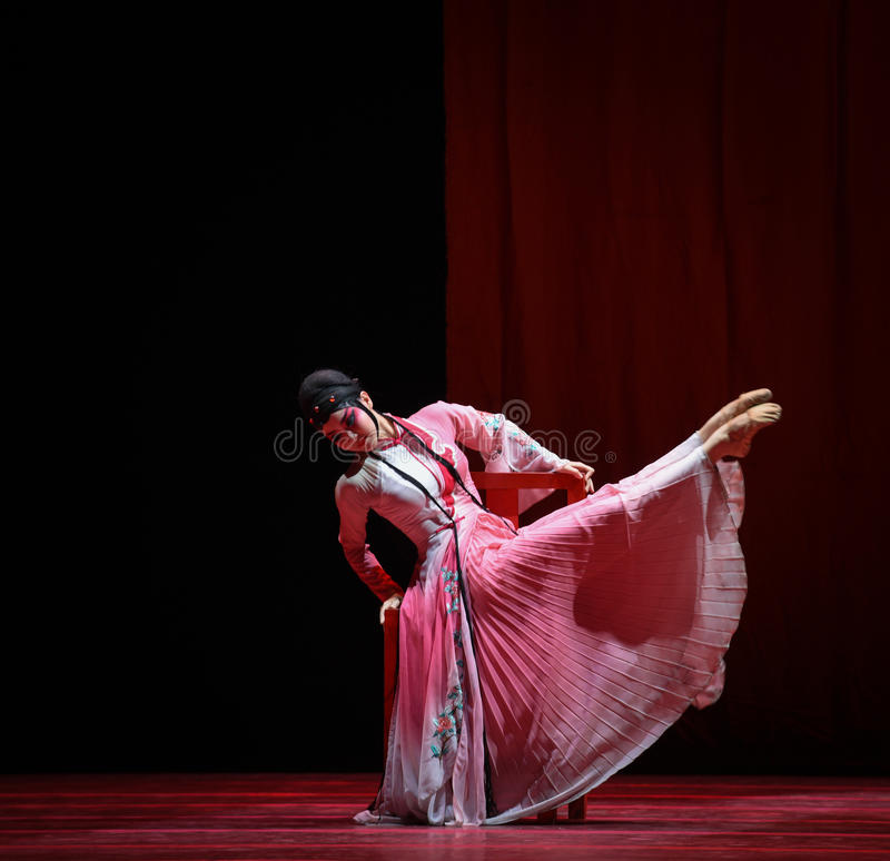 "The drama luxuriant dress -Dance drama""Mei Lanfang"" royalty free stock image"