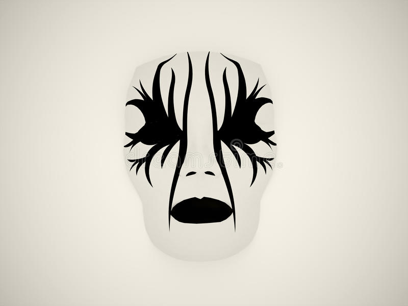 Drama mask stock illustration