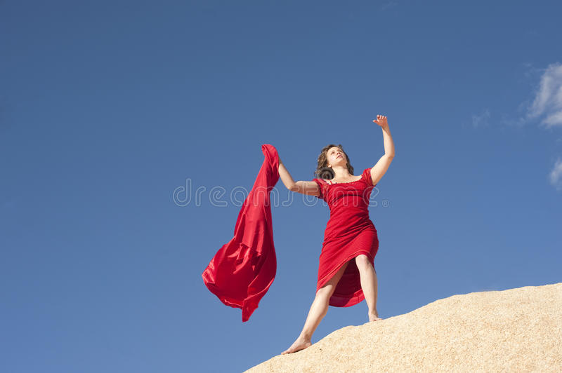 Drama Queen royalty free stock image