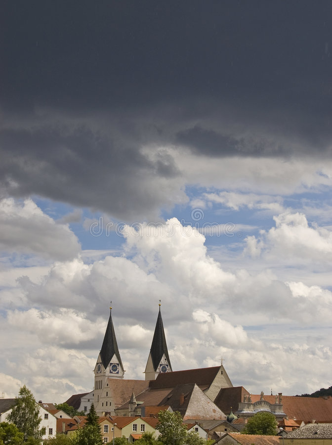Drama in the skies royalty free stock photography