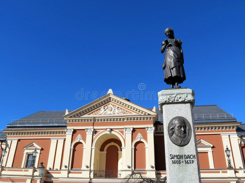 Download Drama Theatre, Klaipeda stock image. Image of sculpture - 38837823