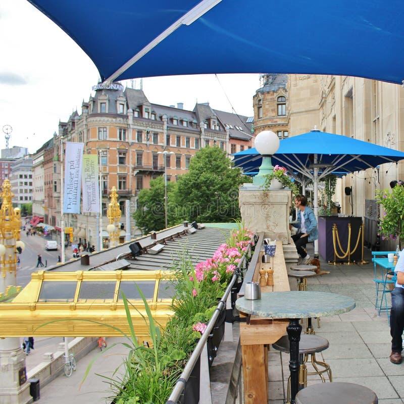 Download DramatenTerassen, Estocolmo Fotografía editorial - Imagen de audiencias, drama: 100533812