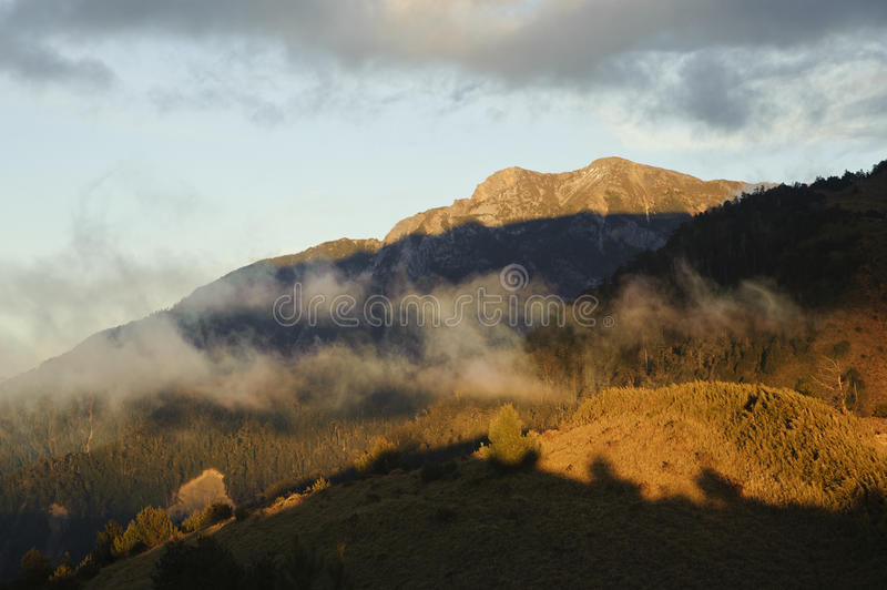Download Dramatic Cloud Scenery With Beautiful Sunset Color Stock Photo - Image: 23909190