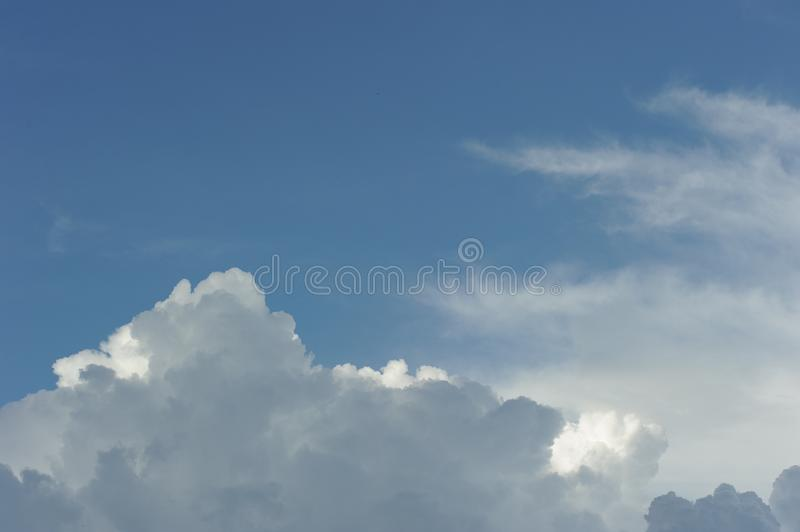 Dramatic cloud in the sky royalty free stock photography