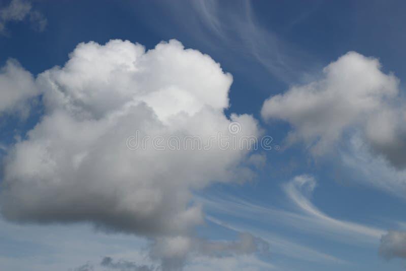 Download Dramatic Clouds With Wispy Swirls Stock Photo - Image: 20152778