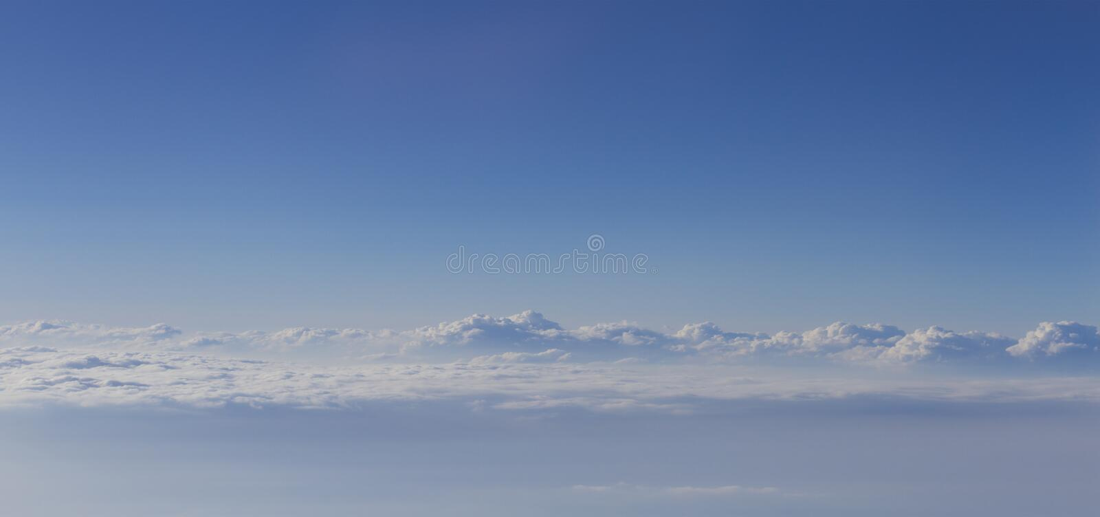 Download Dramatic Cloudscape From Above Stock Photo - Image: 25224692
