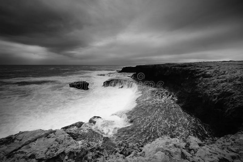 Download Dramatic coast stock image. Image of swell, seascape - 31801299