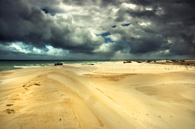 Dramatic desert stock photography
