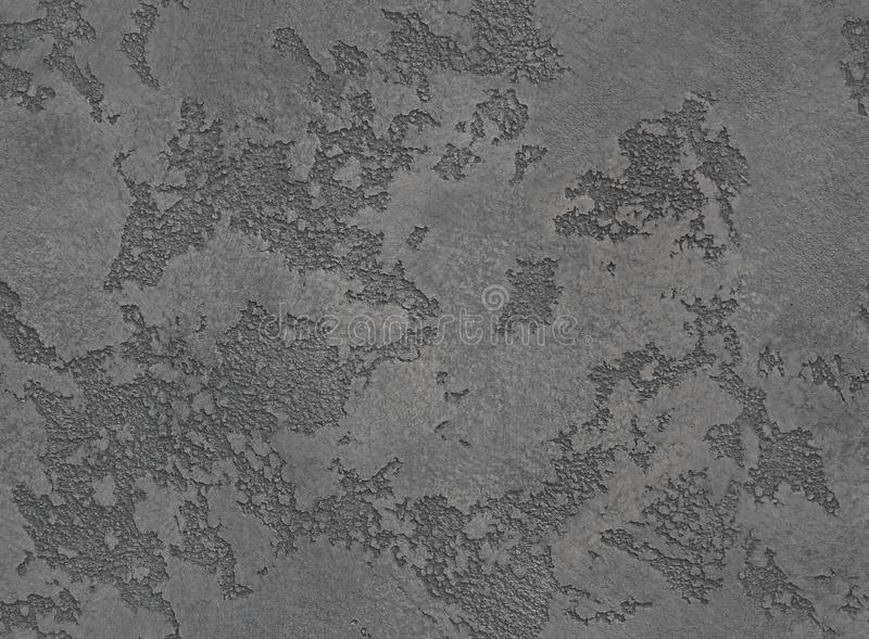 Dramatic grey grunge seamless stone texture. Black venetian plaster background seamless stone grunge texture. Gray seamless grunge royalty free stock image